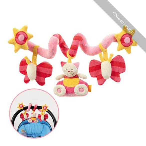 Baby Cute Music Multifunction Toy Kid Crib Round the Bed Hanging great(China (Mainland))