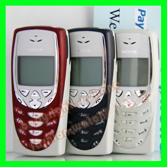 Nokia 8310 Mobile Phone Original Nokia Cheap Phone 8310 Old Cellphones Refurbished One Year Warranty(China (Mainland))