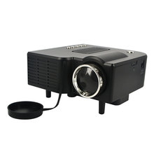 Newest HD UC28 Mini LED Projector Home Theater Portable Multimedia LED Projector Support 1080P HDMI AV-in Video VGA HDMI USB SD(China (Mainland))