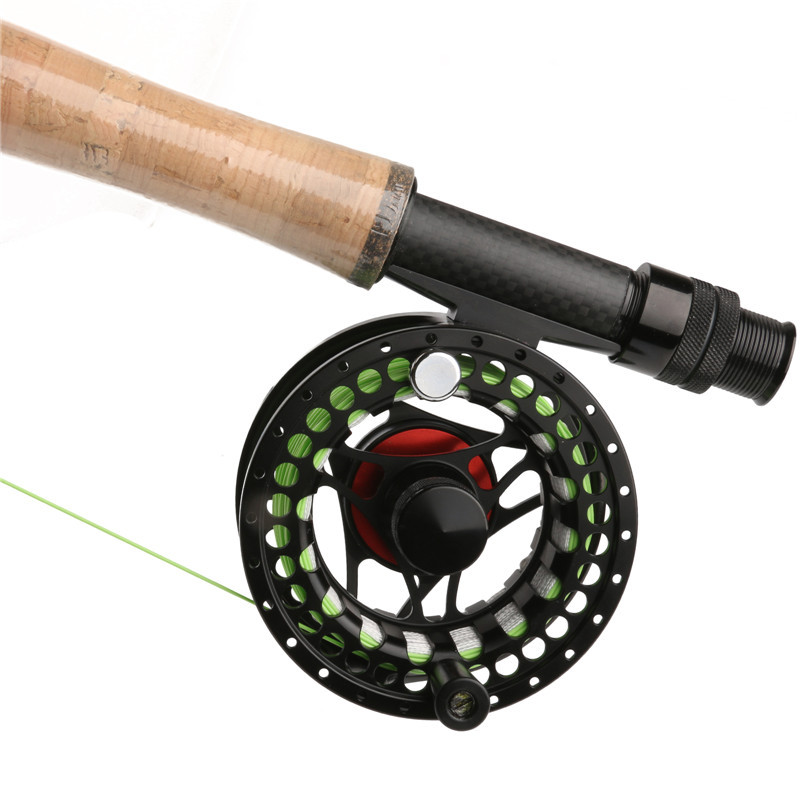 Top quality mc 5 7 weight large arbour fly fishing reel for Chinese fishing reels