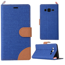 Luxury British Cowboy Pattern Flip Leather Case For Samsung Galaxy On5 O5 G5500 SM-G550 Phone Bags Cover Stand with Card Slot
