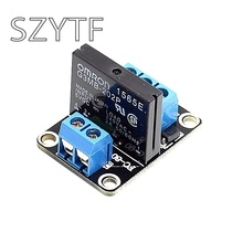 5V 1 Channel OMRON SSR G3MB-202P Solid State Relay Module 240V 2A Output with Resistive Fuse For M63(China (Mainland))