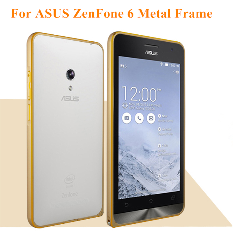 For ASUS ZenFone 6 Metal Aluminum Frame Protector Case Hippocampus Buckle Bumper Case For ZenFone6 Aluminum Case Free Shipping(China (Mainland))