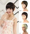 1pcs Wig Bang Hairband Neat Bang Fringe Synthetic belt Hoop Hair Piece fringe Short straight for