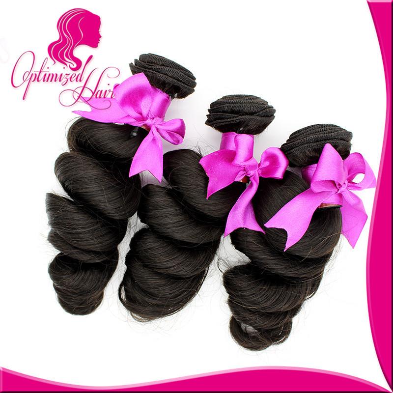 Optimized Unprocess  Peruvian Virgin Hair 3Pcs/Lot Human Hair Bulk Top-rated Virgin  Loose Wave Hair Products<br><br>Aliexpress