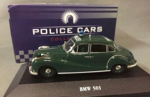 New Atlas 1/43 Scale DieCast Model - 501 Police Cars Collection(China (Mainland))