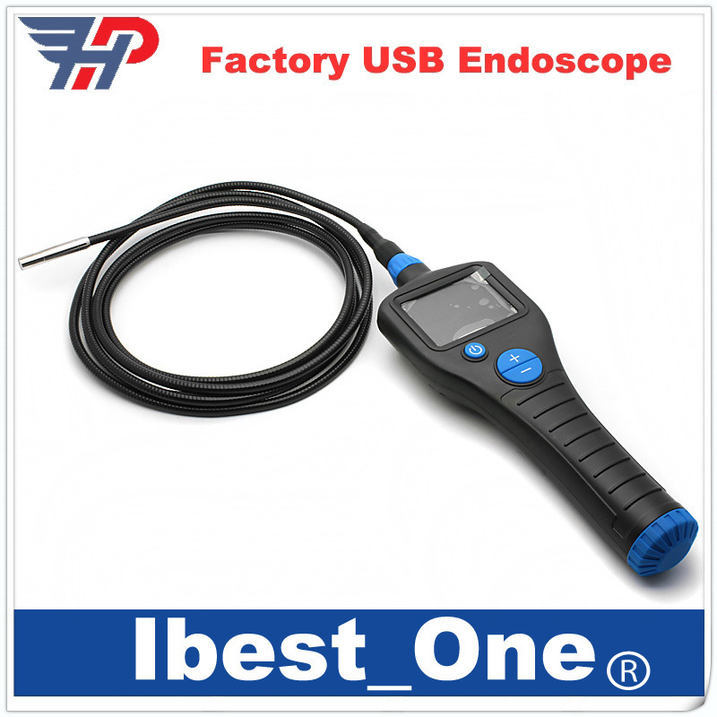 "Free Shipping!2.7"" IP67 Video Inspection Borescope Endoscope Pipe 8mm Camera Snake Scope 1 Meter With 6LED(China (Mainland))"