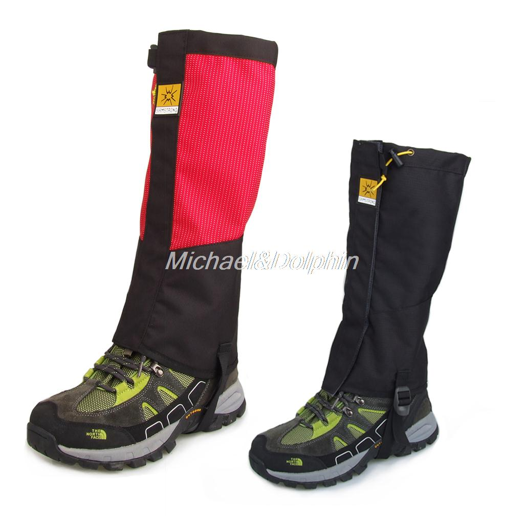 Free Shipping 1 Pair Waterproof Hiking Climbing Trekking Snow Legging Gaiters Leg Covers<br><br>Aliexpress