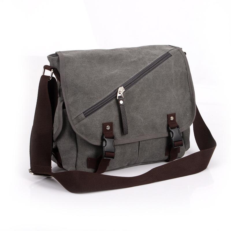 High Quality Men Messenger Bags Canvas Vintage Crossbody Satchel Shoulder Mens School Book Bag Casual-bag Bolsa<br><br>Aliexpress