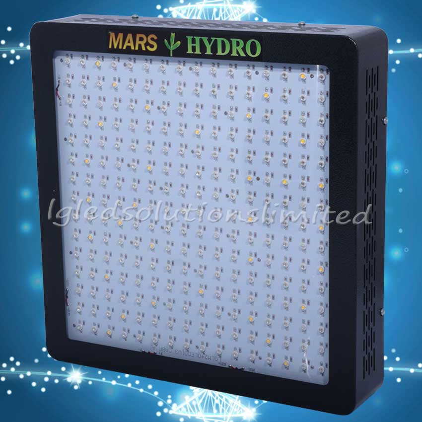 LED Grow Lights Mars Hydro Mars II 1200 Full Spectrum Growth Bloom Plant Indoor True 509W 100% MarsHydro lights manufacturer(China (Mainland))
