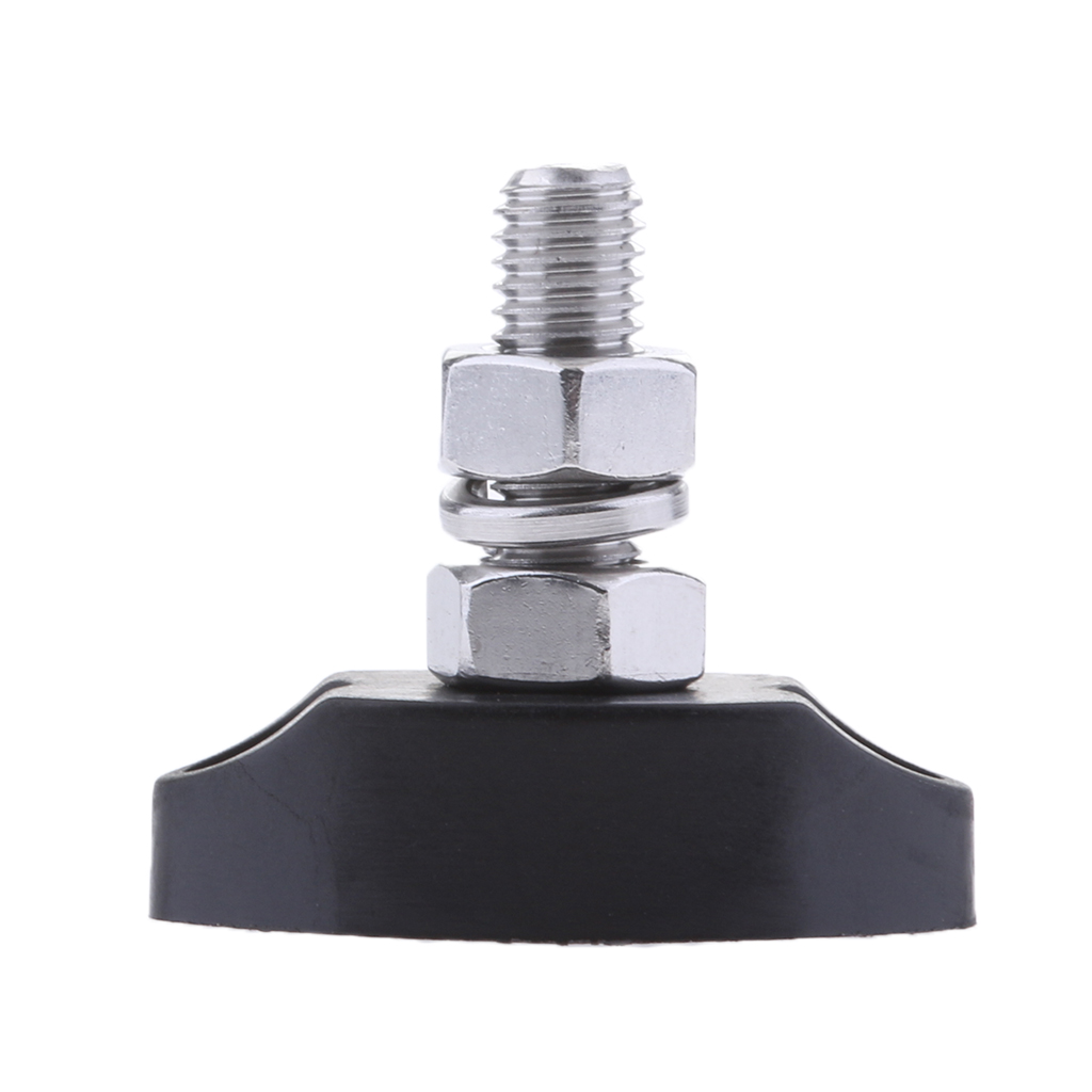 Junction Block Power Post Insulated Terminal Single Stud 6mm Stainless Steel