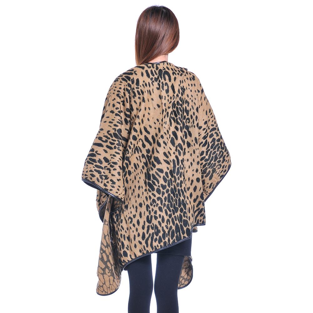 Fashion Classic Sexy Leopard Pashmina Capes Big Size Winter Fall Women's Blanket Cheetah Cloak Scarves FEAL S207(China (Mainland))