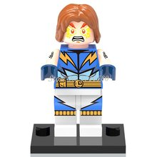Single Sale DC Marvel SuperHero Minifigures Building Blocks Toys Batman Captain America,Wolverine,Iron Man,Deadpool(China (Mainland))