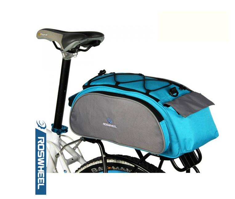 Гаджет  Bicycle Bag Roswheel Multifunction 13L Bike Tail Rear Bag Saddle Cycling Bolso Manillar Mala Viagem Bolsa Selim Bicicleta None Спорт и развлечения