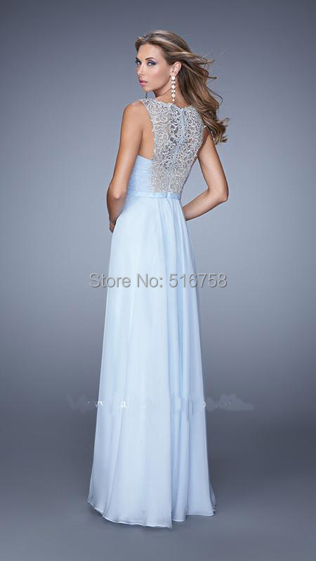 Flowing Dresses for Prom