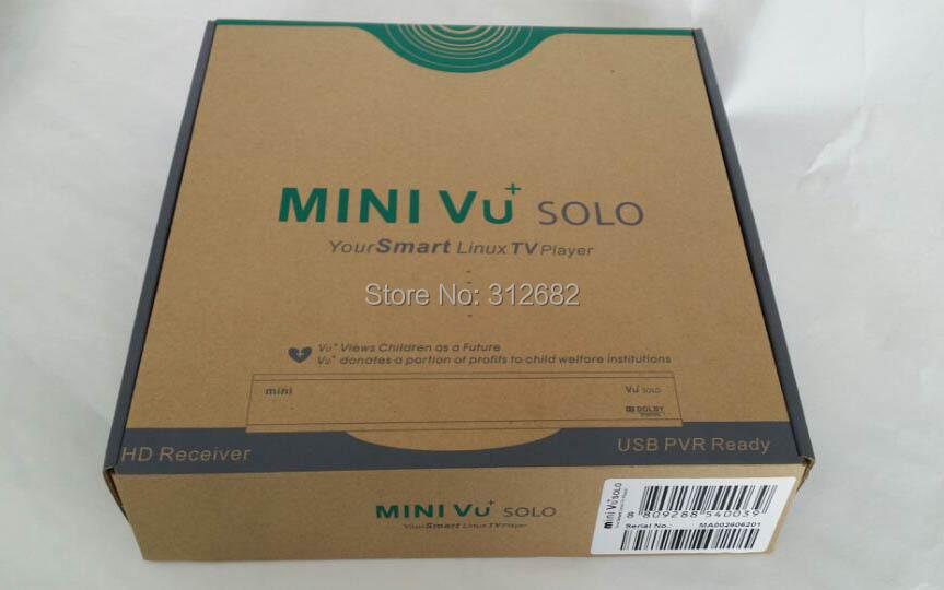 mini VU Solo mini solo Linux based DVB-S2 HD enigma2 satellite receiver Mini Vu solo smart Linux TV player(China (Mainland))