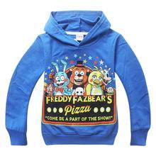 Kids Sport Clothes Five Nights at Freddys Children s t shirt baby Boys Long sleeve Cartoon