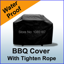 """SALE BBQ Cover free Shipping New Waterproof 57"""" 145cm Gas Barbecue Grill For Patio Protector Q5VA(China (Mainland))"""