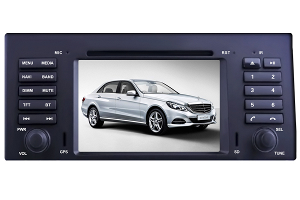 Two Din 7 inch TOUCH SCREEN CAR DVD PLAYER WITH RADIO GPS FOR BMW E39 / M5 1995-2003 TV Radio Bluetooth - Shenzhen TomTop E-commerce Technology Co., Ltd. store