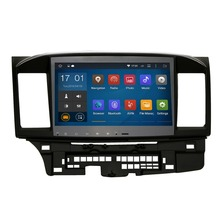 10.2'Quad core wifi 1024*600 android 4.4.4 GPS for Mitsubishi Lancer EX CPU