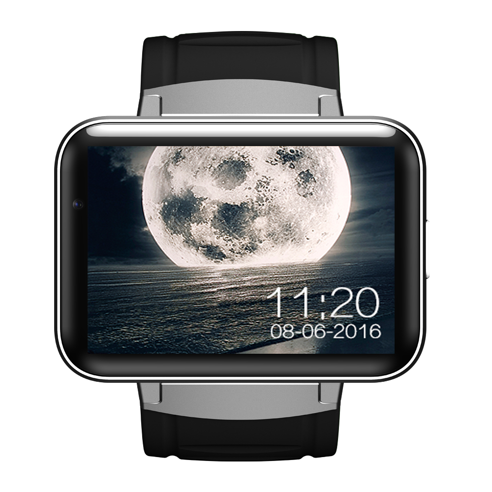 DM98 Smart Watch Bluetooth Sport Smart Watch Video Call Dual core 3G Supports Android 4.4 OS WCDMA GPS Wifi Whatsapp Skype etc.(China (Mainland))