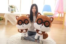 45cm/55cm Romantic Squirrel Free Shipping Plush toys Cartoon dolls pillow Kawaii Alpaca(China (Mainland))