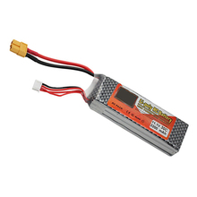 Buy Lithium Polymer Power Lipo Battery 11.1V 2200Mah 3S 30C XT60 RC Helicopter Qudcopter Drone Truck Car Boat Bateria for $14.97 in AliExpress store