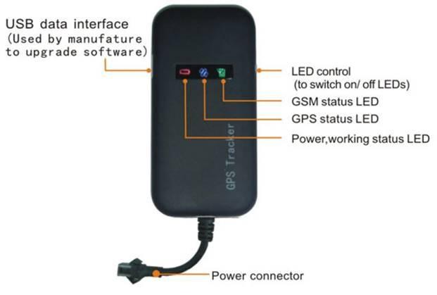 4 band car GPS tracker GT02A FREE platform real address Google link free shipping android & Iphone APP(China (Mainland))
