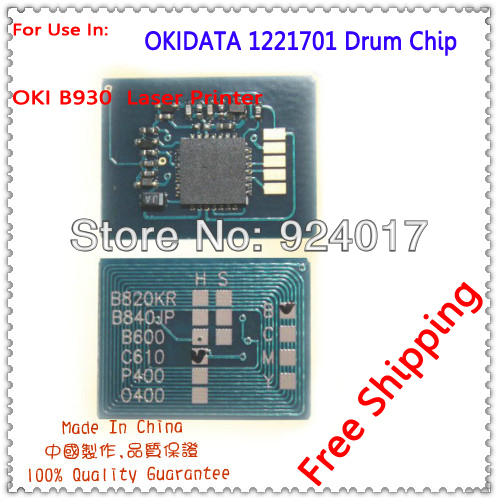 For OKI B930 B 930 Drum Cartridge Chip, For OKIDATA OKI B 930 1221701 Image drum Chip,For OKI Laser Printer Chip,Free Shipping<br><br>Aliexpress
