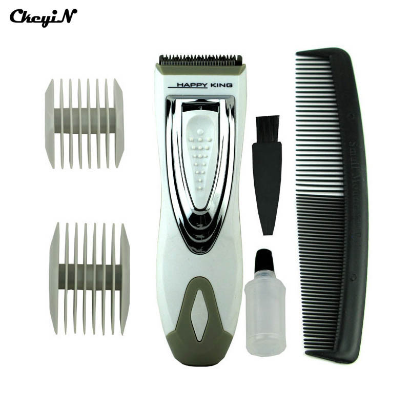 CkeyiN Rechargeable Portable Cordless Hair Cutter Cutting Machine For Barber Electric Men Hair Shaving Clipper Trimmer RCS31W