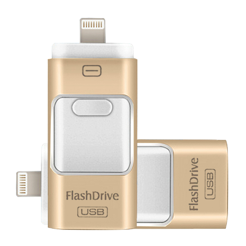 New i-Flash Driver HD U-disk Lightning data for iPhone/iPad/iPod,micro usb interface flash drive for PC/MAC 8G/16G/32G/64G(China (Mainland))