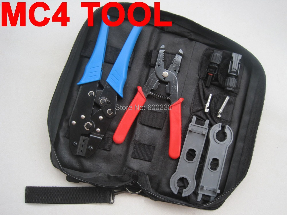Набор ручного инструмента LSD brand MC4 MC4 4 2 6 2, PV DIY AWG 14 12 10 LS-K2546-1