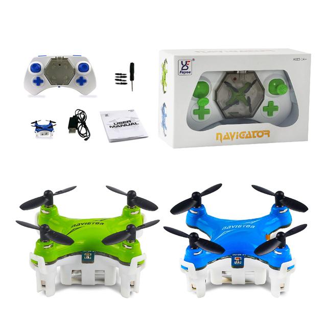 2016 Новый Продукт Мини Drone RC Quadcopter Дрон 2.4 Г 4CH Карманного 3D Рулон Свет Пульт Дистанционного Управления Вертолетом для Детей