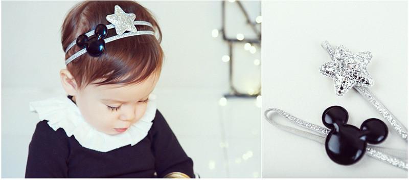 2pc/set baby girl headband elastics hairbands for newborns hair accessories kids hair head band ornaments girl headwear headress