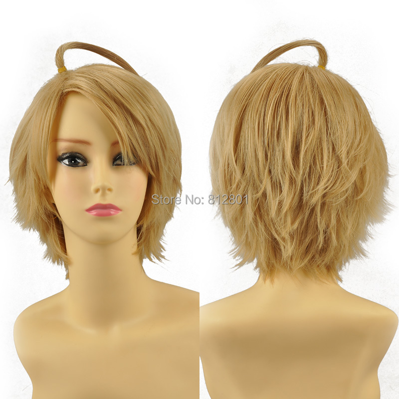 Axis Powers Hetalia Alfred F Jones cosplay wig 100% Heat-resistant synthetic fiber - Lacos Cosplay store