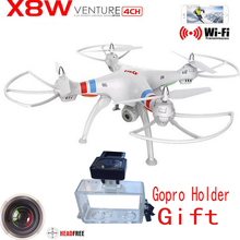 Syma X8W WiFi Real Time Video and syma x8c   2.4G 4ch 6 Axis Venture with 2MP Camera Big RC Quadcopter FPV(China (Mainland))