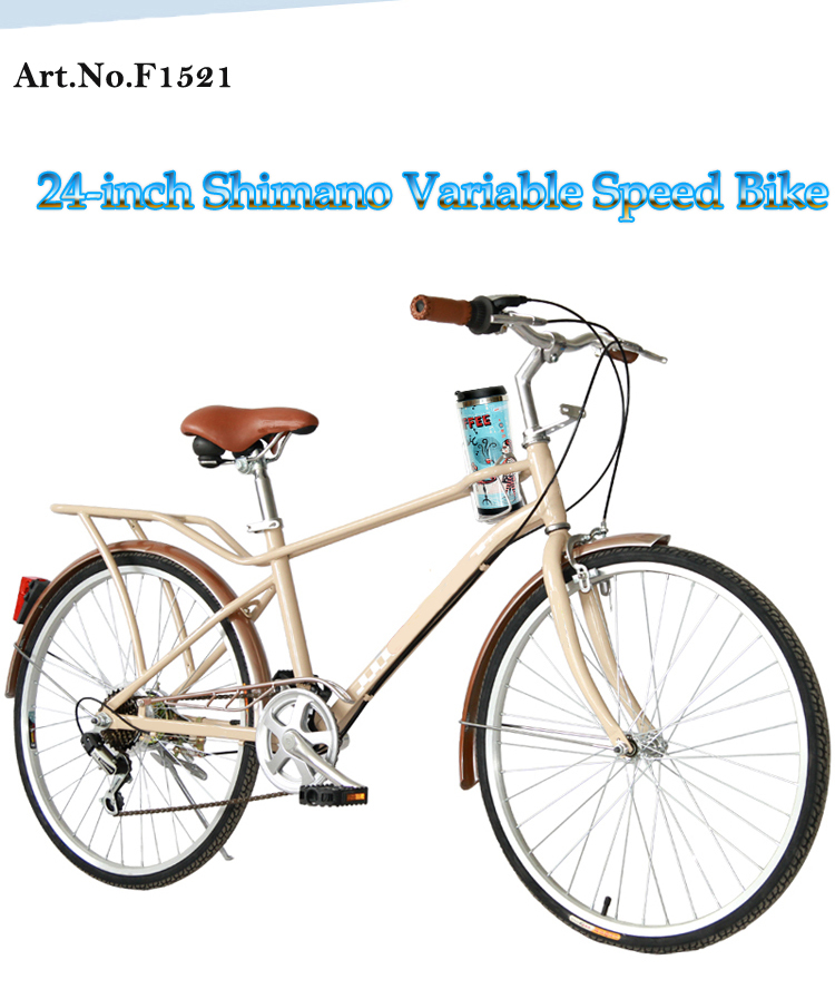 24 Male and Female Retro Commuter Variable Speed Bike(China (Mainland))
