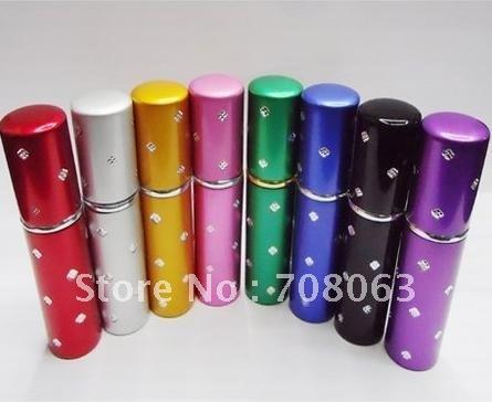 EMS Free Shipping 25pcs/lot 10ml perfume bottle ,mist sprayer ,travel refillable perfume spray atomizer ,perfumes packaging(China (Mainland))