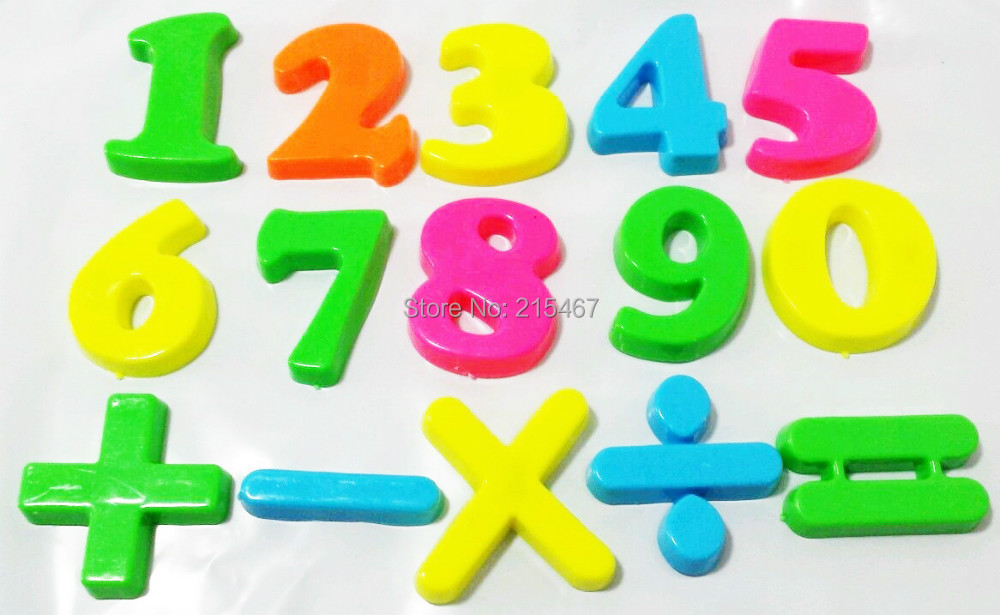 "First Classroom 90 MAGNETIC NUMBERS - 1.5"" ~NEW~ EDUCATIONAL TOY PRE SCHOOL(Hong Kong)"