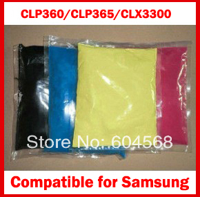 Фотография High Quality Compatible for  Samsung clp360/clp365/clx3300 Chemical Color Toner Powder Free Shipping