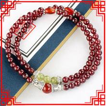 New Original yellow jade  bracelet ,handmade agate  Ethnic garnet  bracelet, DIY fashion luxury vintage stones beads bracelet  ,(China (Mainland))