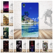 Buy Fashion Skull Painting TPU Soft Silicone Sony Xperia Z4 E6533 E6553 Phone Case Sony Xperia Z4 E6533 E6553 Phone Cover for $1.84 in AliExpress store
