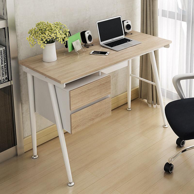 Desk simple modern desk computer desk IKEA desk drawer desk desk for household use(China (Mainland))