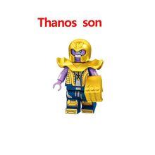 Vingadores Marvel Super heroes Homem de ferro Hulkbuster Mech robô Blocos de Construção de Brinquedos educativos Para crianças Presentes de Natal(China)