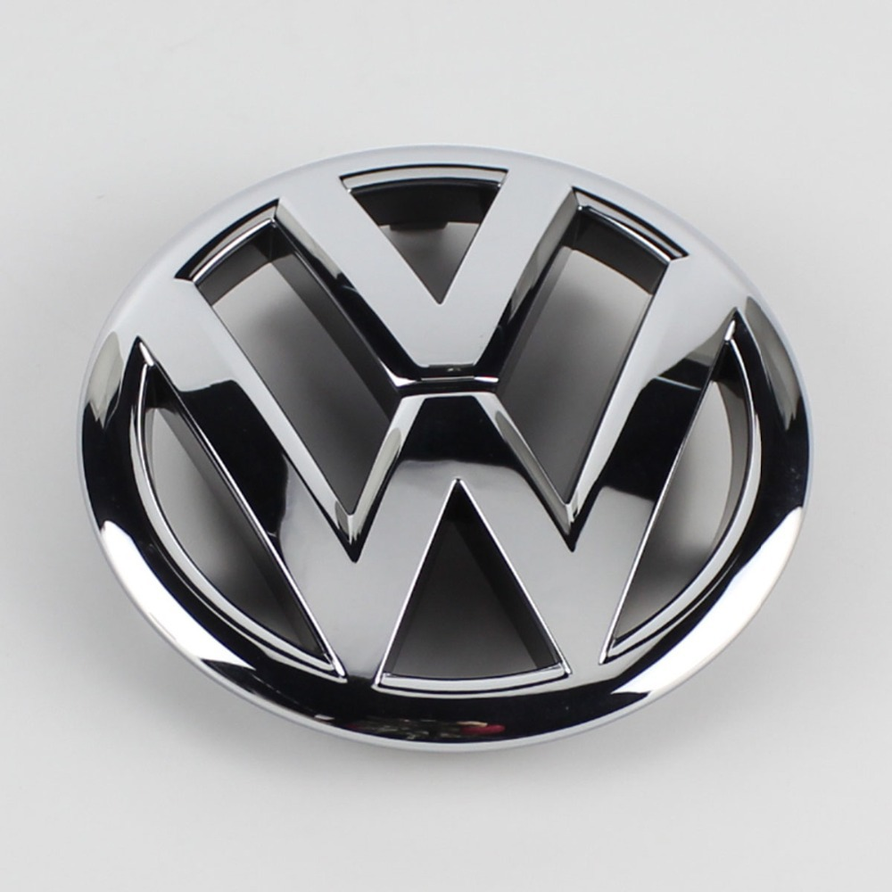 oem chrome silver front grille grill emblem badge replacement for vw polo 10 14 in emblems from. Black Bedroom Furniture Sets. Home Design Ideas