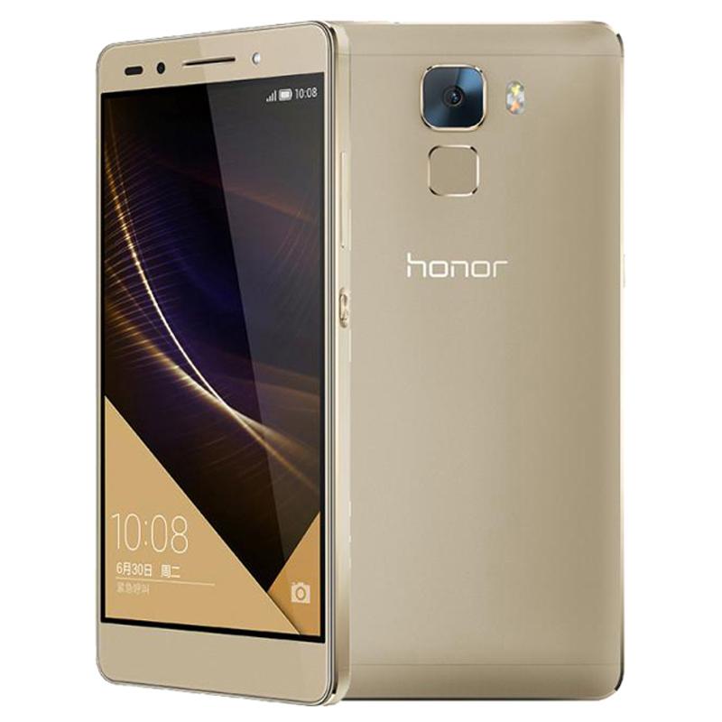 Original Huawei Honor 7 PLK-AL10 4G LTE CDMA Hisilicon Kirin Octa Core 5.2'' 3GB RAM 64GB ROM 20.0MP Fingerprint Cell Phone(China (Mainland))