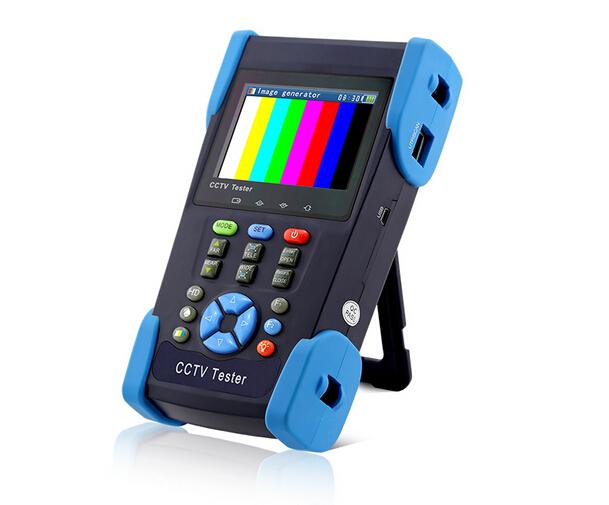 """HD2800A 3.5"""" AHD camera tester HD Coaxial Tester monitor HD AHD1080P analog camera tester PTZ control 12V ouput IP scan(China (Mainland))"""