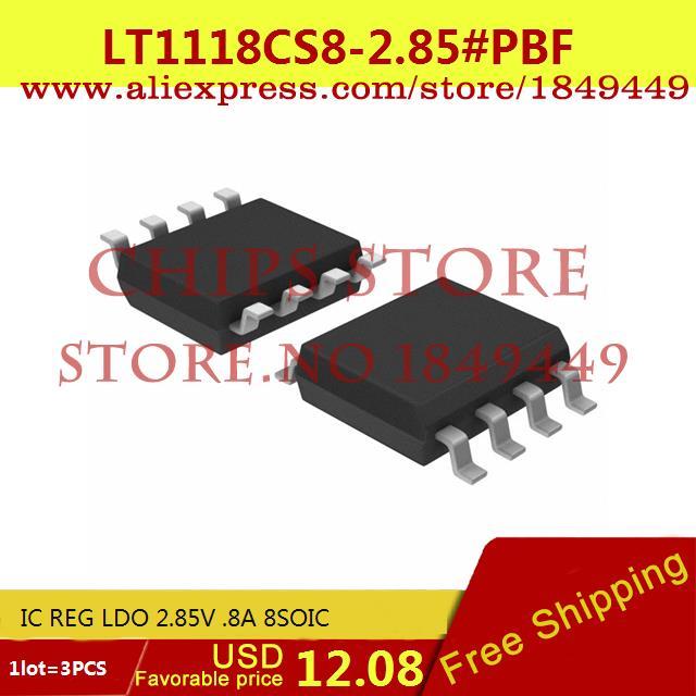 Бесплатная Доставка Интегральные Схемы Типов LT1118CS8-2.85 # PBF IC REG LDO 2.85 В. 8A 8 SOIC LT1118CS8-2.85 1118 LT1118 3 ШТ. бесплатная доставка интегральные схемы типов lt1762ems8 3 3 tr ic reg ldo 3 3 в 15a 8 msop lt1762ems8 3 3 1762 lt1762 3 шт