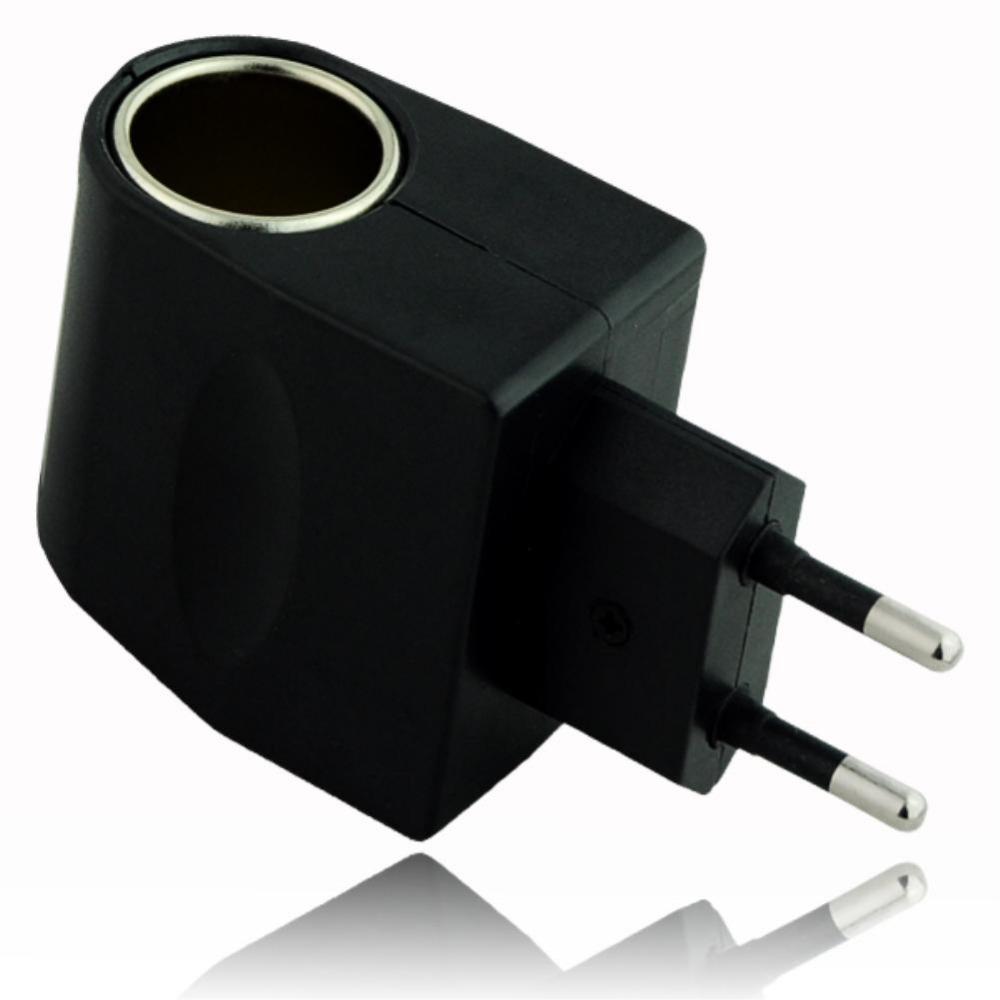 12V Household Car Charger Cigar Cigarette Lighter 110V-220V AC to 12V DC EU Car Power Adapter Converter EE4104(China (Mainland))