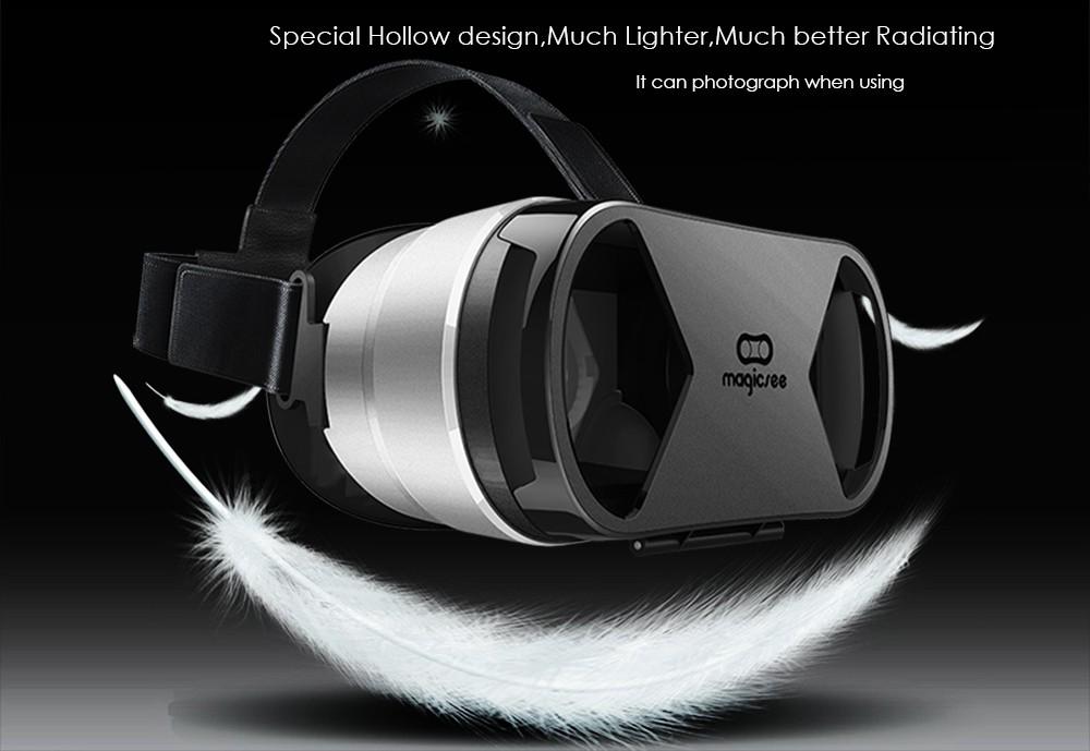 ถูก VRชุดหูฟังG1กล่อง3Dแก้วความจริงเสมือน360องศาส่วนตัวcinemaเกมห้องพักวิดีโอสำหรับ4.7-6.0นิ้วios A Ndroidมาร์ทโฟน